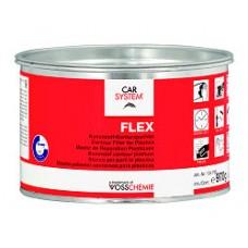 """CAR 2K """"Flex"""" черн. (1кг) полиэфирная шпатлевка по пластику"""
