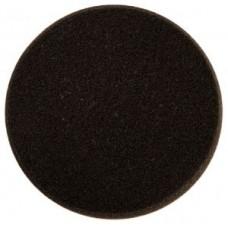 Поролоновый полировальный диск 85мм, чёрный, (2 шт. в уп.)