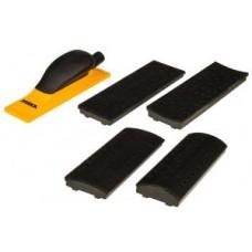 Комплект ручного шлифовального блока 70x198 40 отв, п насадок, на липучке