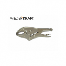 Зажим закругленный с фиксатором WDK-65104