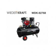 Масляный поршневой компрессор с бензиновым двигателем WDK-92768