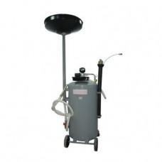 Передвижная установка с воронкой и набором щупов для слива или принудительного сбора отработанного масла WDK-89270