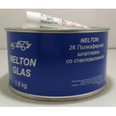 NELTON 2К шпатлевка полиэфирная со стекловолокном Glas 1.8 kg