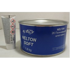 NELTON 2K шпатлевка полиэфирная Soft 1.8 kg