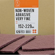 Нетканый абразивный материал 152х229мм VERY FINE красный RoxelPro