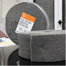 Нетканый абразивный материал 115мм х10м ULTRA FINE серый RoxelPro