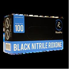 Нитриловые перчатки ROXONE чёрные размер L упаковка 100 шт.