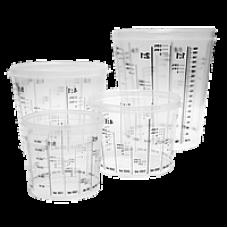 Ёмкость пластиковая для смешивания красок 0385 л