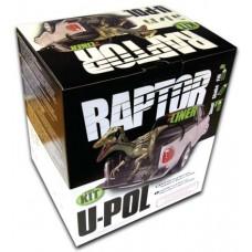 Защитное покрытие RAPTOR 2K 3x1 повышенной прочности, черное 4+1литр комплект