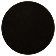Поролоновый полировальный диск 150мм, черный, (2 шт. в уп.)