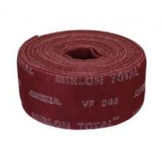 Скотч-брайт Mirlon TOTAL, 115 мм. х 10 м. VF360 (красный) рулон