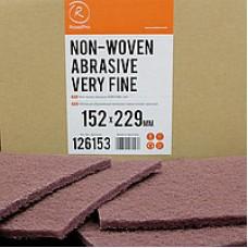 Нетканый абразивный материал 152х229мм VERY FINE красный