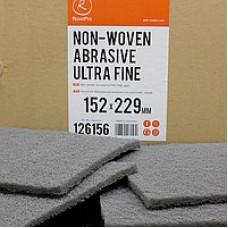 Нетканый абразивный материал 152х229мм ULTRA FINE серый