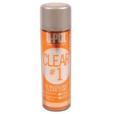 1К лак Clear 1 устойчивый к UV, с высоким глянцем, аэрозоль, 450мл.